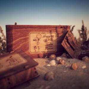 Cutii lemn
