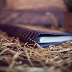 Agenda din lemn - Let tha adventure begin
