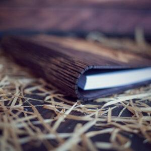 Agenda din lemn - mode Papusarul