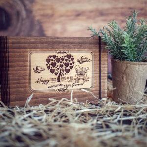 Mini album foto - model Proaspat casatoriti