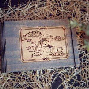 Mini album foto - model Ursulet pe luna 1