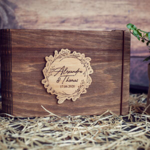 GuestBook / Caiet amintiri - model 1 Wedding Name